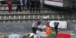 treno incidente cadavere morto