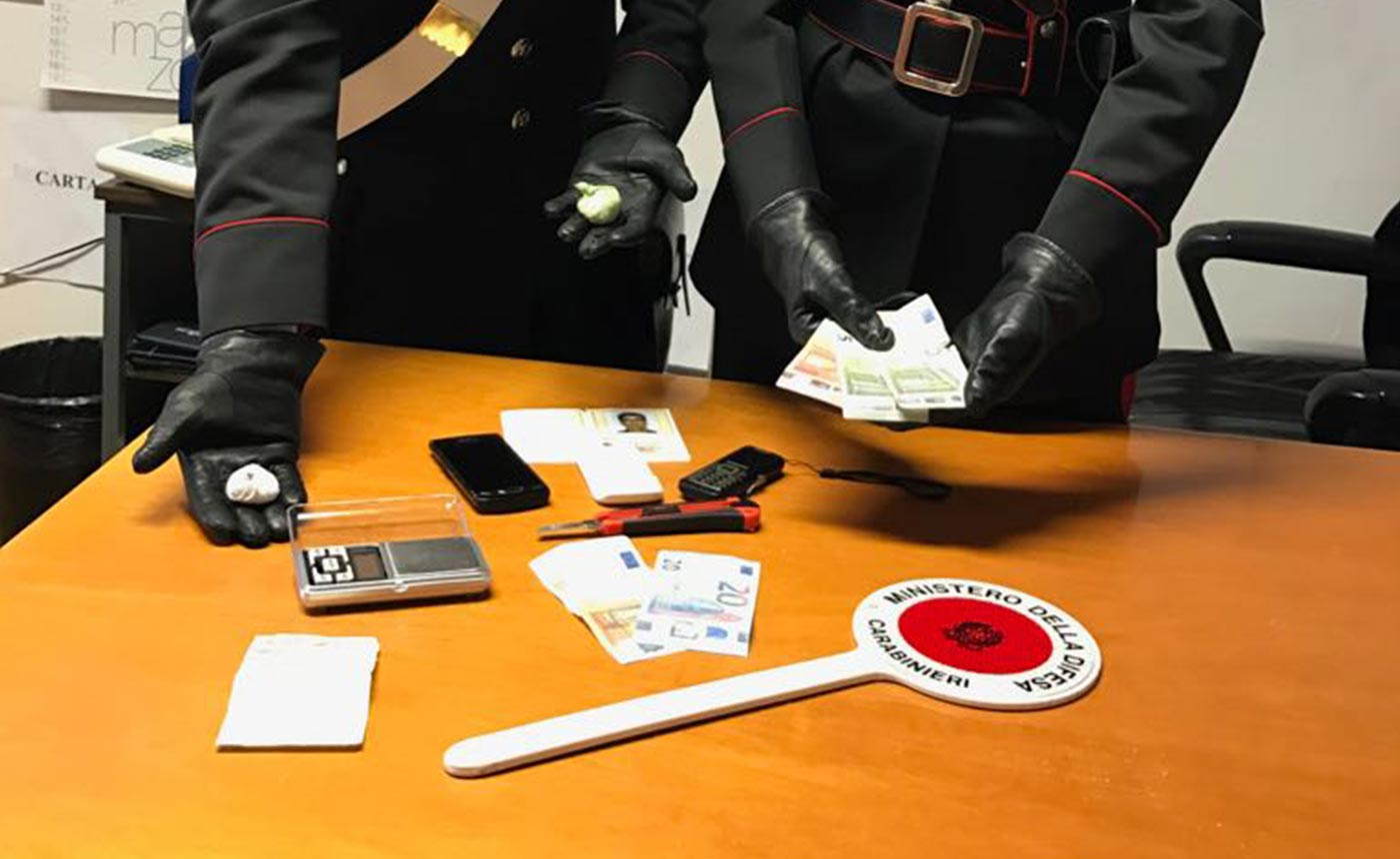 Ladispoli fuga pusher-carabinieri