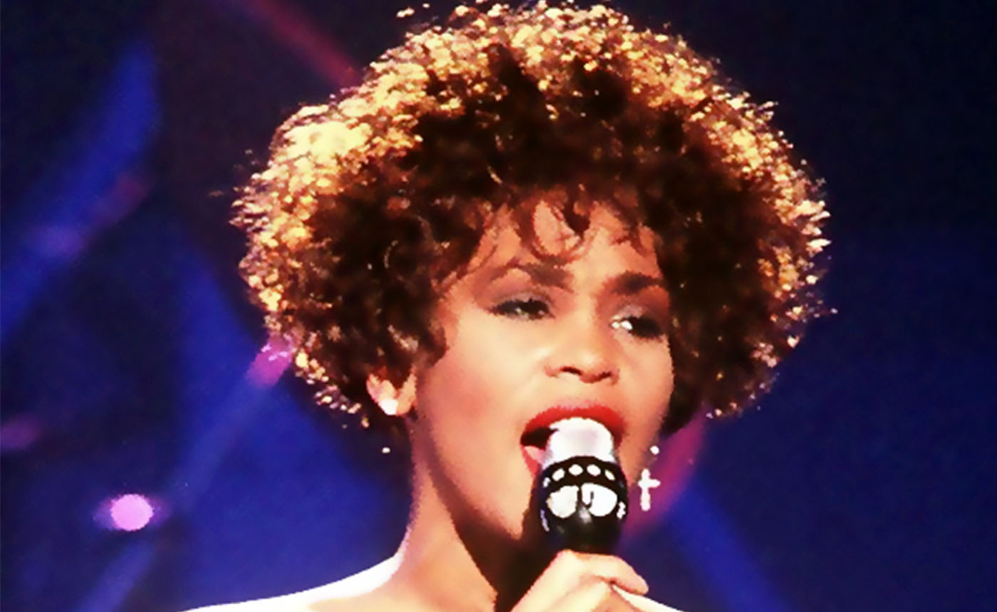 Il docufilm su Whitney Houston al cinema